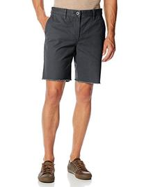RVCA Men's All Time Chino Cut Off Short, Dark Slate, 34