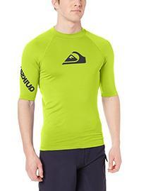 Quiksilver Men's All Time Short Sleeve Surf Tee Rashguard,