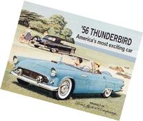 TIN SIGN NOSTALGIC ~ FORD THUNDERBIRD - TBIRD VINTAGE