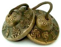 Tingsha Tibetan Bell  Buddhist Lucky Symbols