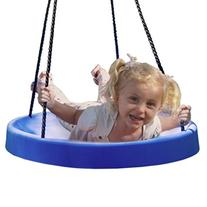 Super Spinner Swing, FUN! Safe Solid Comfortable Seat, FREE