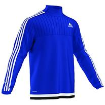 Adidas Tiro 15 Mens Training Top XL Bold Blue-White-Black