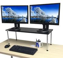 Stand Steady TITAN Monitor Stand -CRAZY Big & Tall! - Holds