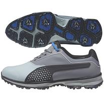 PUMA Men's Titanlite Golf Shoe, Limestone Gray/Steel Gray/