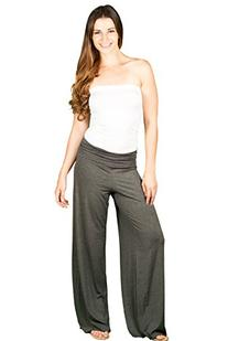 TL Women's Made in USA Comfy Wide Leg Long Boho Maternity