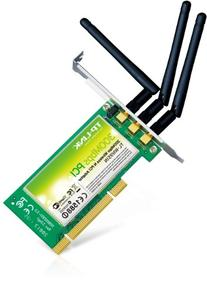 TP-LINK Wireless N300 Advanced PCI Adapter, 2.4GHz 300Mbps