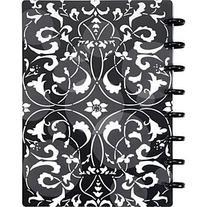 Staples Arc Customizable Flower Circle Design Notebook