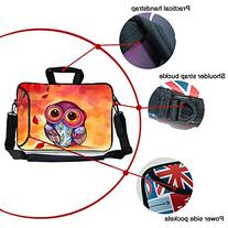 Kitron12.9-13.3 Inches Cute Colorful Cartoon Owl Design