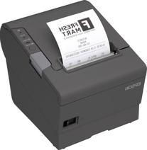 Epson TM-T88V Thermal Receipt Printer  No Power Supply Dark