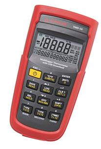 Amprobe TMD-56 Multi-Logging Digital Thermometer, 0.05%