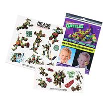 TMNT Teenage Mutant Ninja Turtles Glow in the Dark Temporary