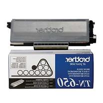 Original Brother TN-650  8000 Yield Black Toner Cartridge -