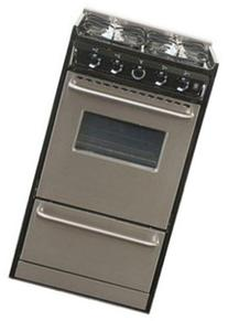 """TNM130R Professional Series 20"""" Slide-In Gas Range With"""