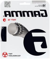 Gamma TNT2 16G Tennis String, Black