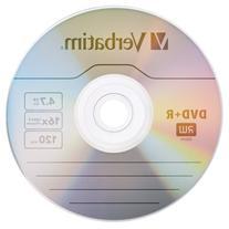 Verbatim DVD+R 4.7GB 16x AZO Recordable Media Disc - 100