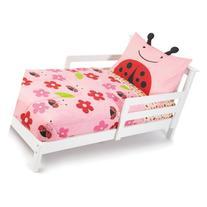 Skip Hop 4 Piece Toddler Bedding Set, Ladybug