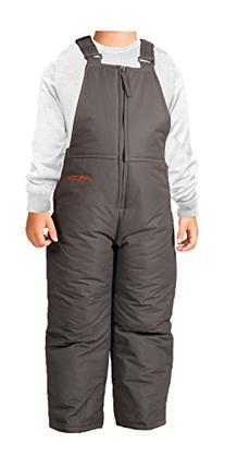 Arctix Toddler Chest High Snow Bib Overalls, 4T, Charcoal