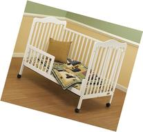 Orbelle Trading Toddler Guard Rail for Emma Crib, White
