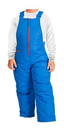 Arctix Toddler Chest High Snow Bib Overalls, 2T, Blue