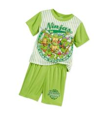 Ninja Turtles Toddler Boys' 2-Piece Pajamas