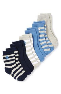 Toddler Boy's Robeez 'Rugby Star' Socks, Size 12-24months -