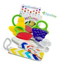 Wimmzi Infant and Toddler Teething Toys: BPA-free Silicone