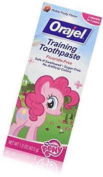 Orajel Toddler Training Toothpaste, My Little Pony, Pinkie