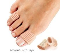 Pack of 3 Toe Protector Gel Cushion Comfort Stretchable