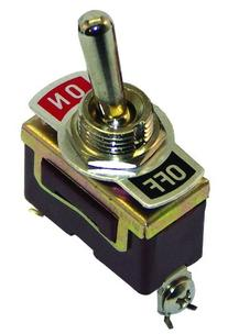 Invincible Marine Toggle On/Off Switch, Brass