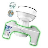"Step and Go 7"" Toilet Step - Proper Toilet Posture for a"
