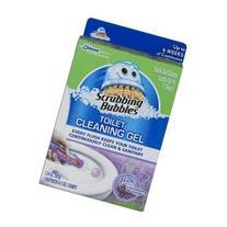 Scrubbing Bubbles Toilet Cleaning Gel 1 Dispenser 6 Gel
