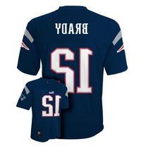 Tom Brady New England Patriots Navy NFL Youth 2014 Season