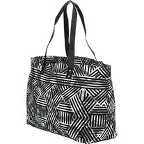 Hurley Juniors Tomboy Tote Beach Bag, White Z, One Size