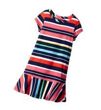 Tommy Hilfiger Kids - Y/D Jersey Multi Stripe Dress   Girl's
