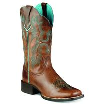 Ariat Women's Tombstone Work Boot, Sassy Brown, 11 B US