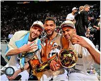 Tony Parker, Tim Duncan, Manu Ginobili San Antonio Spurs
