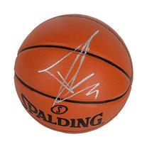 Tony Parker San Antonio Spurs Autographed Spalding Indoor