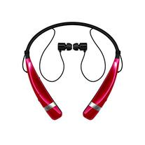 Lg - Tone Pro Bluetooth Headset - Red