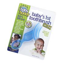 Baby Buddy Baby's 1st Toothbrush Teether-Innovative 6-Stage