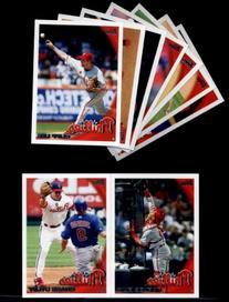 2010 Topps Baseball Cards Complete TEAM SET: Philadelphia