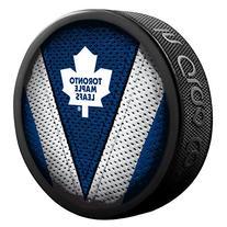 Toronto Maple Leafs Stitch Jersey Collectible Hockey Puck