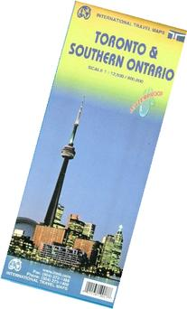 Toronto & Ontario South Travel Reference Map