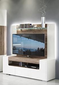 Toronto TV Cabinet with Wall Panel - Medium - Living Room