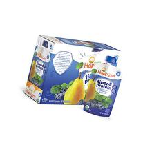 Happy Tot Organics Fiber & Protein, Pears, Blueberries and
