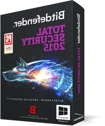 Bitdefender Total Security 2015 - 1 PC, 1  year