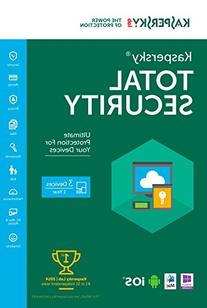 Kaspersky Total Security 2016 | 3 Devices |  1 Year |