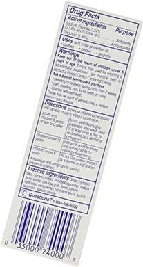 Total Toothpaste, Anticavity Fluoride and Antigingivitis,