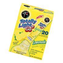 4C Totally Light 2Go Lemonade Drink Mix, 20ct