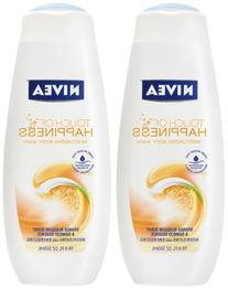 NIVEA BODY WASH TOUCH OF HAPPY 16.9 OZ