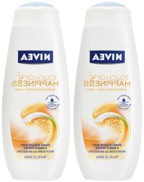 NIVEA Care & Orange Blossom Moisturizing Body Wash 16.9 oz